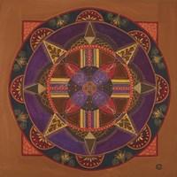 Heart And Soul Mandala Fine Art Print