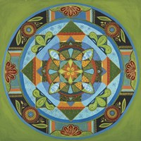 Next Year Mandala Fine Art Print