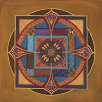 Time Mandala Fine Art Print