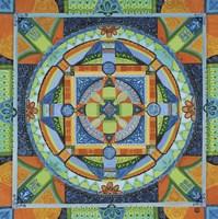 Happiness Mandala Fine Art Print