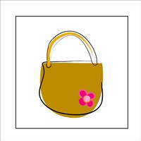 Brown Purse Fine Art Print