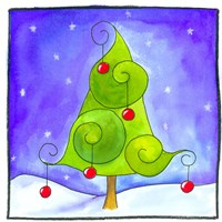 Christmas Tree Fine Art Print