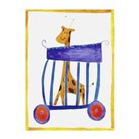 Circus Giraffe Fine Art Print