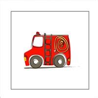 Firetruck Fine Art Print
