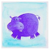 Hippo Fine Art Print