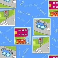 Road Crossing Fine Art Print