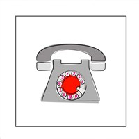 Telephone 1 Fine Art Print