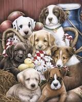 Puppy Pals Fine Art Print