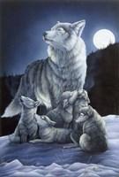 Howling Lessons Fine Art Print