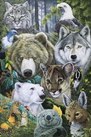 North America's Endangered Fine Art Print