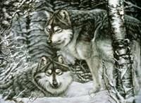 Winter Companions Fine Art Print