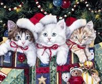 Meowy Christmas Fine Art Print
