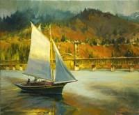 Autumn Sail Fine Art Print