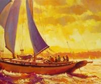 Golden Opportunity Fine Art Print