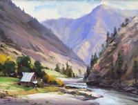 Along The Salmon River Fine Art Print