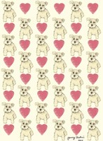 Dog Pattern Fine Art Print