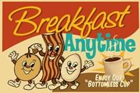 Breakfast Anytime Fine Art Print