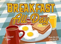 Breakfast All Day Fine Art Print