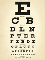 Eye Chart Fine Art Print