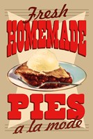 Fresh Homemade Pies Fine Art Print