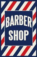 Barber Shop Stripes Fine Art Print