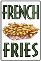 French Fries Vertical Fine Art Print