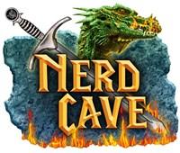 Nerd Cave Dragon Fine Art Print