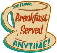 Breakfast Served Fine Art Print