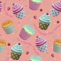 Cupcake Coral Fine Art Print