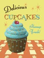 Cupcakes Delicious Fine Art Print