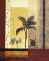 Exotic Palm I Framed Print