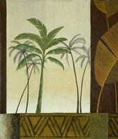 Green Palms II Fine Art Print