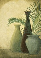 Three Vases I Fine Art Print