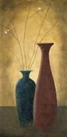 Two Vases II Framed Print