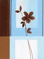 Brown Flower I Framed Print