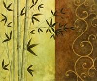 Bamboo Elegance I Fine Art Print