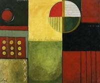 Abstract Fields II Fine Art Print