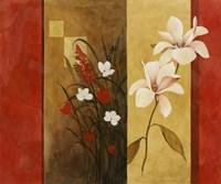 Asian Floral II Fine Art Print