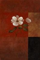 Red Floral I Framed Print