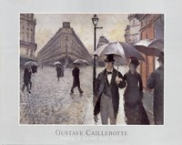 Paris, A Rainy Day, 1877 Fine Art Print