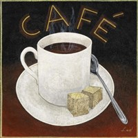 Cafe I Framed Print