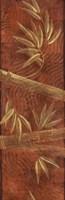 Red Bamboo Panel Fine Art Print