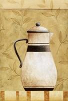 Coffee Pot I Framed Print