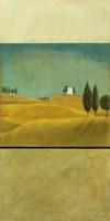 Golden Fields I Framed Print