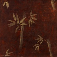 Red Bamboo Fine Art Print
