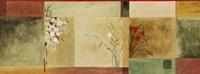 Botanical Abstract Panel Fine Art Print