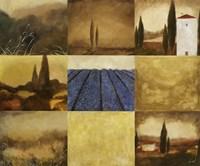 Tuscan Views I Framed Print