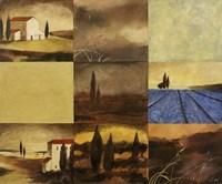 Tuscan Views II Framed Print