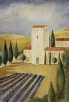 Tuscan Villa I Fine Art Print