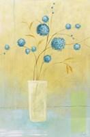 Blue Delight Framed Print